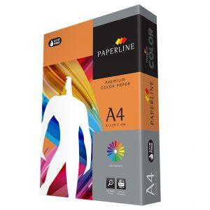 A4 Premium Saffron Color Paper