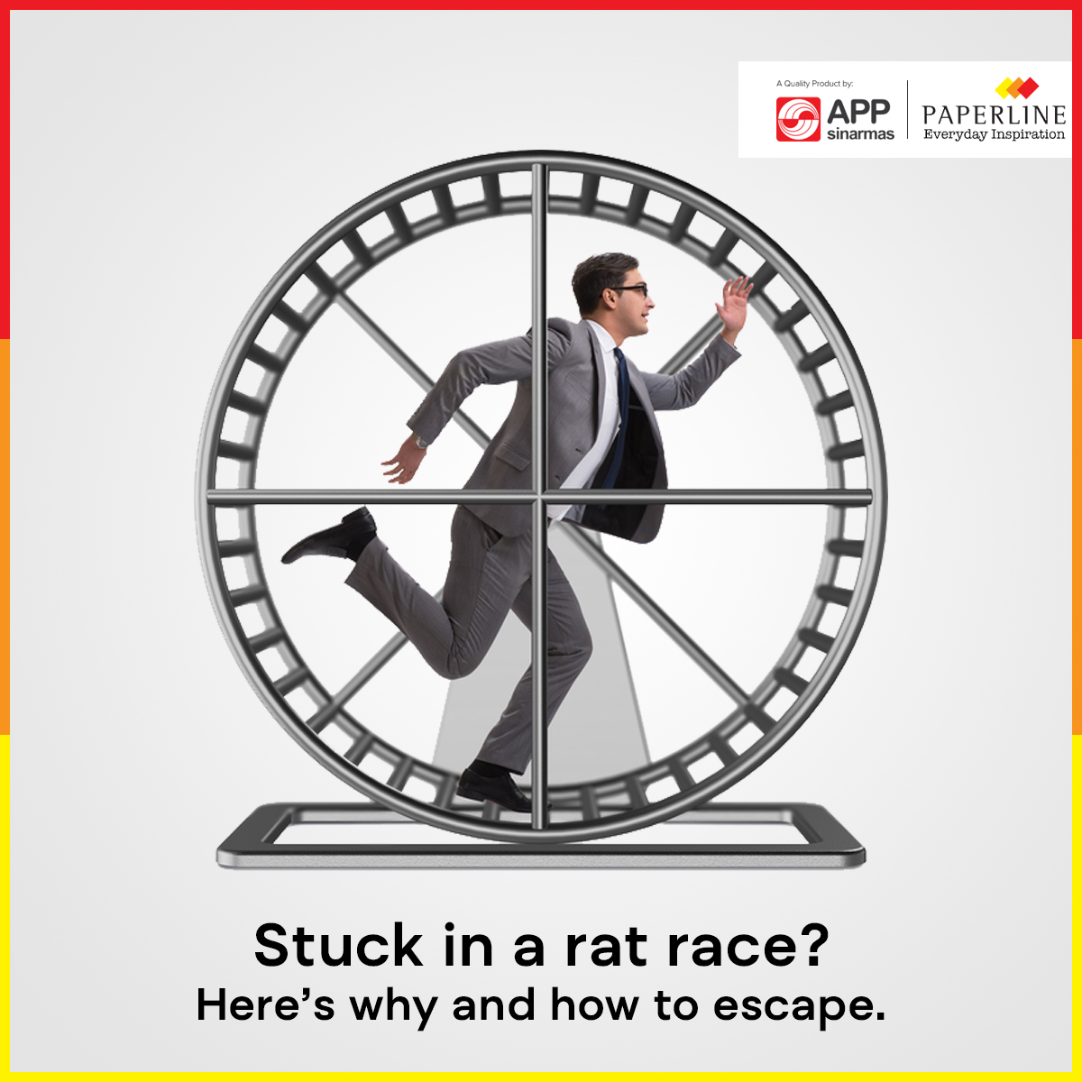 Stuck in a Rat Race? Here's Why and How to Escape.