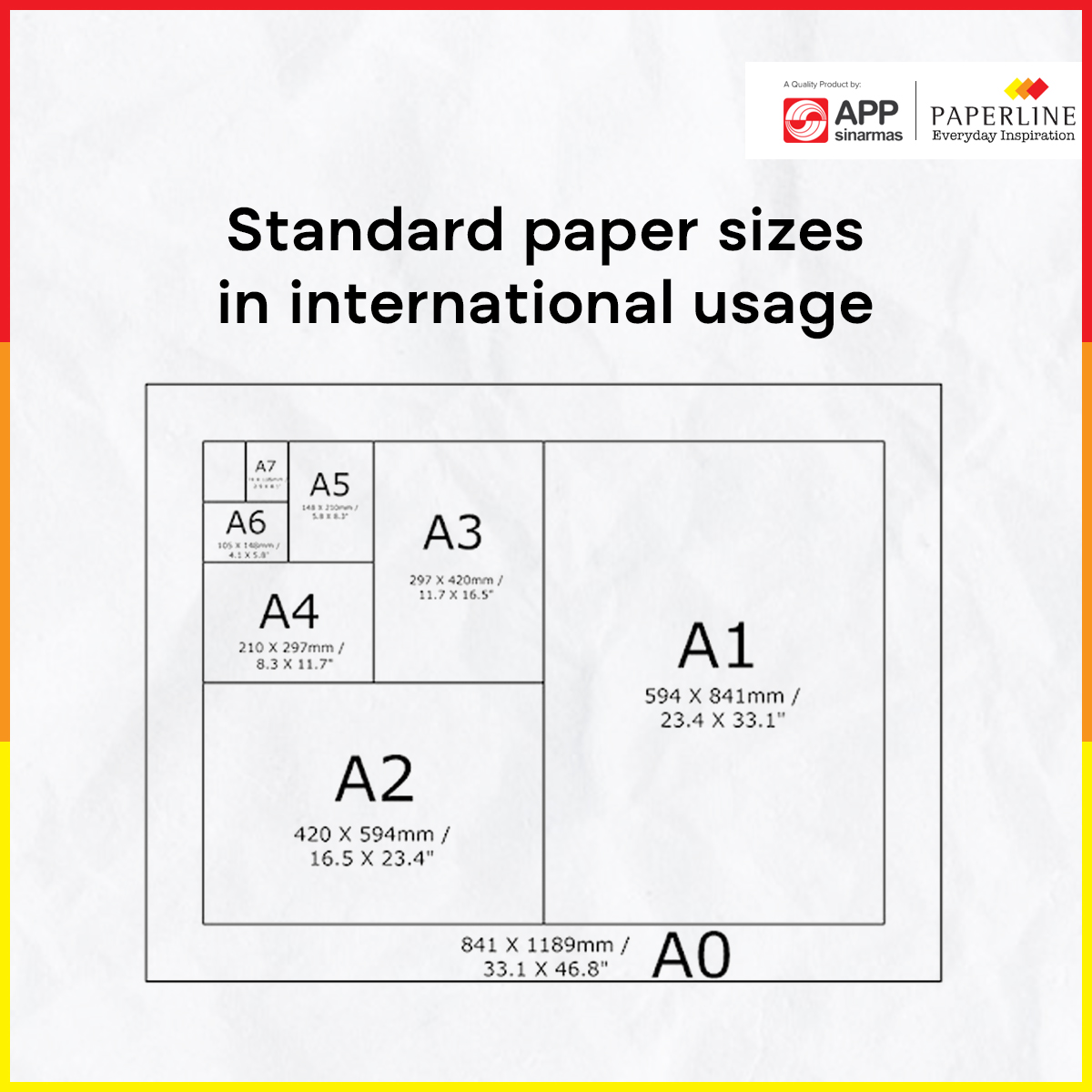 Standard Paper Sizes in International Usage