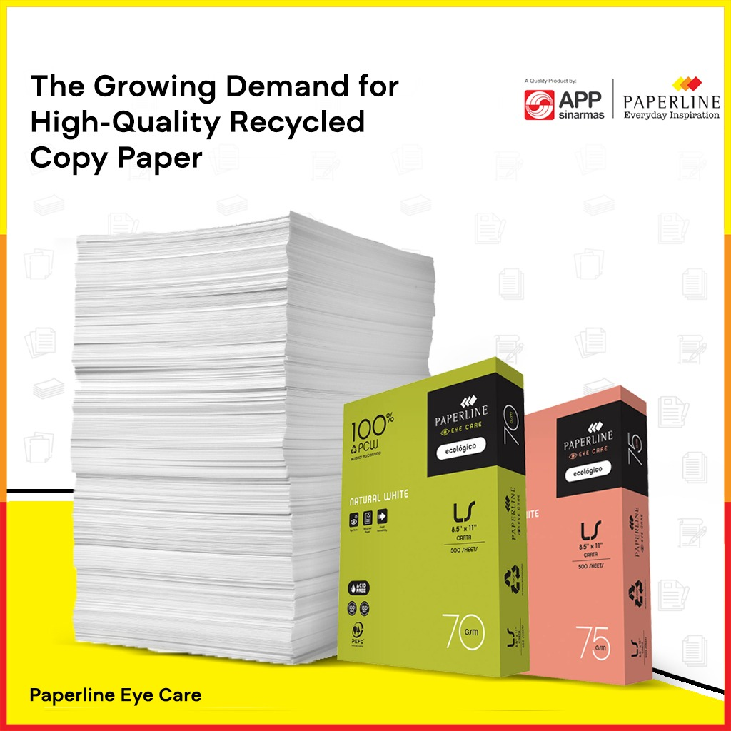 The Growing Demand for High-Quality Recycled Copy Paper