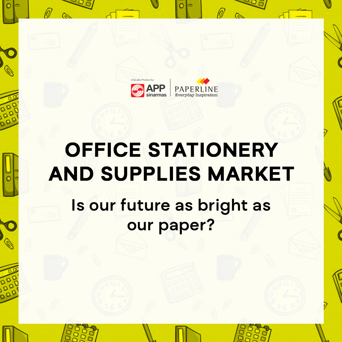 Office Stationery and Supplies Market – Is Our Future as Bright as Our Paper?